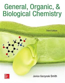 General, Organic, & Biological Chemistry 3 9780073511245