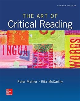 The Art of Critical Reading 4 9780073513591