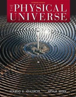 Physical Universe, by Krauskopf,15th Edition 9780073513928