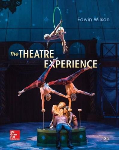 The Theatre Experience 13 9780073514277