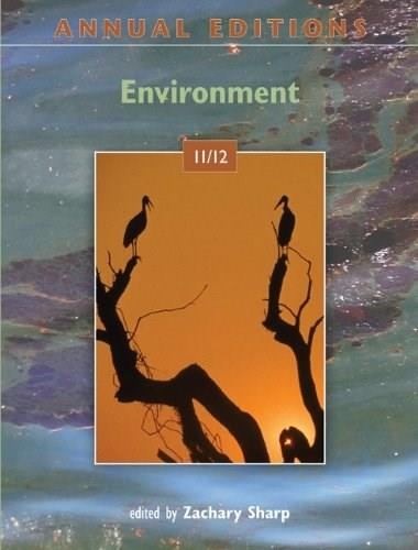 Annual Editions: Environment, by Sharp, 30th Edition 9780073515588