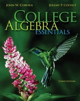 College Algebra Essentials 3 9780073519708