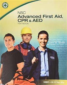 NSC Advanced First Aid, CPR & AED BK w/DVD 9780073519999
