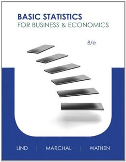 Basic Statistics for Business and Economics, by Lind, 8th Edition 9780073521473