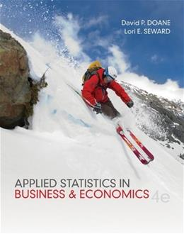Applied Statistics in Business and Economics 4 9780073521480