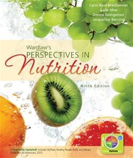 Wardlaws Perspectives in Nutrition 9 9780073522722