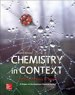 Chemistry in Context 8 9780073522975