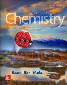 Introduction to Chemistry 4 9780073523002