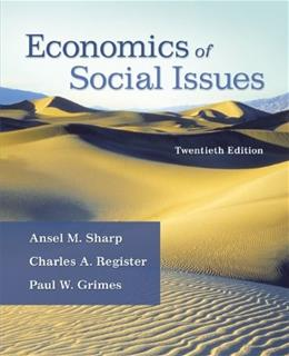 Economics of Social Issues (The Mcgraw-hill Economics Series) 20 9780073523248