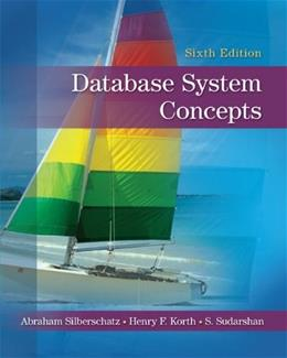 Database System Concepts By Silberschatz, Abraham/ Korth, Henry F./ Sudarshan, S. 6 9780073523323