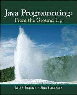 Java Programming: From the Ground Up, by Simonson 9780073523354