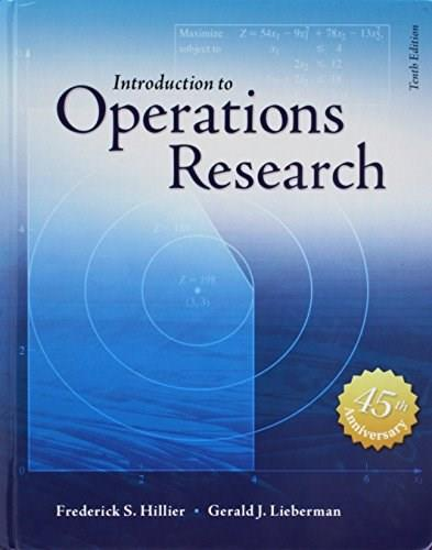 Introduction to Operations Research 10 9780073523453