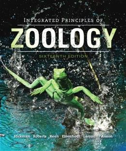 Integrated Principles of Zoology 16 9780073524214