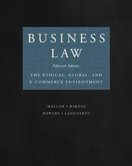 Business Law 15 9780073524986