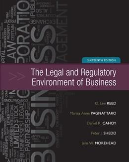 The Legal and Regulatory Environment of Business 16 9780073524993