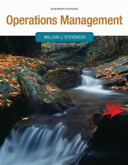 Operations Management (Operations and Decision Sciences) 11 9780073525259