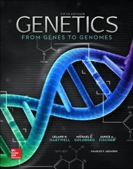 Genetics: From Genes to Genomes, 5th edition 9780073525310