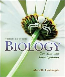 Biology: Concepts and Investigations 3 9780073525549