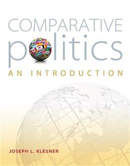 Comparative Politics: An Introduction, by Klesner 9780073526430