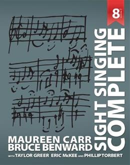 Sight Singing Complete 8 9780073526652