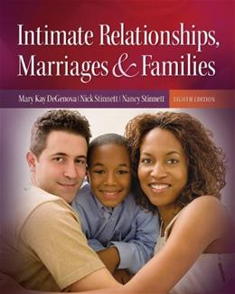 Intimate Relationships, Marriages, and Families 8 9780073528205