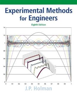 Experimental Methods for Engineers (Mcgraw-hill Series in Mechanical Engineering) 8 9780073529301