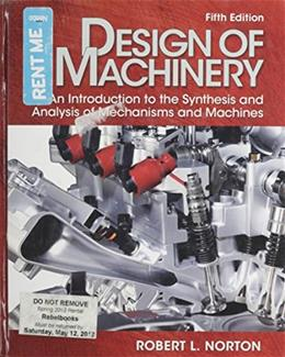 Design of Machinery, by Norton, 5th Edition 5 w/DVD 9780073529356
