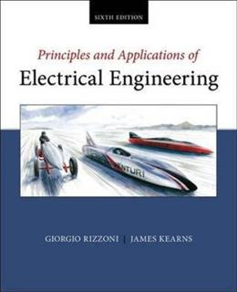 Principles and Applications of Electrical Engineering, by Rizzoni, 6th Edition 9780073529592