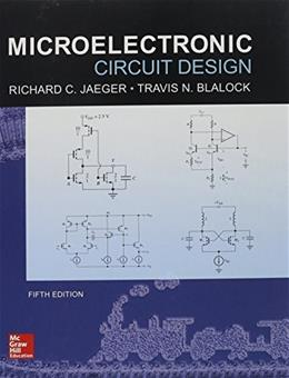 Microelectronic Circuit Design, 5th Edition 9780073529608
