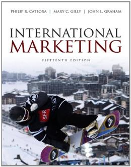 International Marketing, by Cateora, 15th Edition 9780073529943