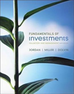 Fundamentals of Investments 6 9780073530710