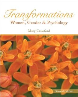 Transformations Women, Gender and Psychology 2 9780073532158