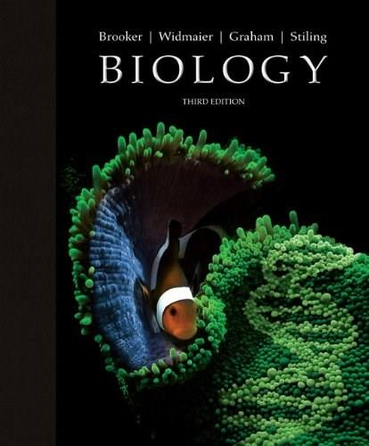 Biology, by Brooker, 3rd Edition 9780073532240