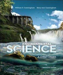 Environmental Science, by Cunningham, 13th Edition 9780073532547