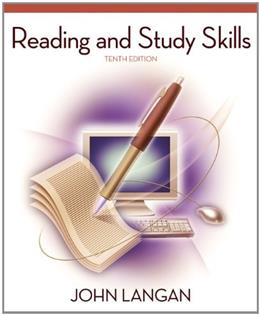 Reading and Study Skills, by Langan, 10th Edition 9780073533315