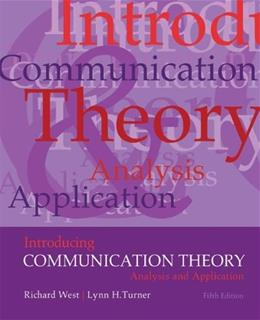 Introducing Communication Theory: Analysis and Application, by West, 5th Edition 9780073534282