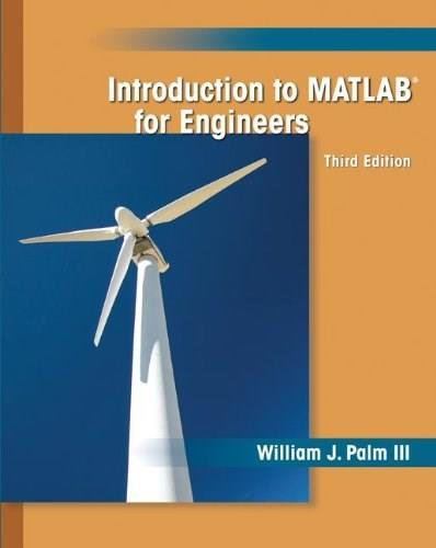 Introduction to MATLAB for Engineers 3 9780073534879
