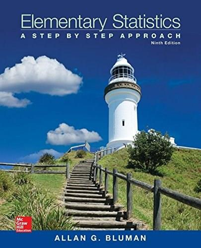 Elementary Statistics: A Step By Step Approach 9 9780073534985