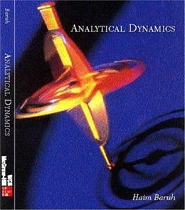 Analytical Dynamics, by Baruh 9780073659770