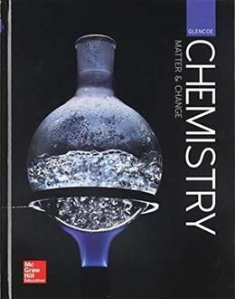 Glencoe Chemistry: Matter and Change, Student Edition 9780076774609