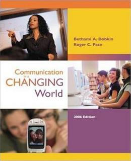 Communication in a Changing World, by Dobkin, 2nd Edition 2 w/CD 9780077212186