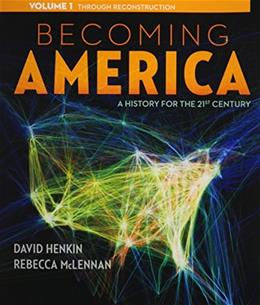 1: Becoming America, Volume I 9780077275600
