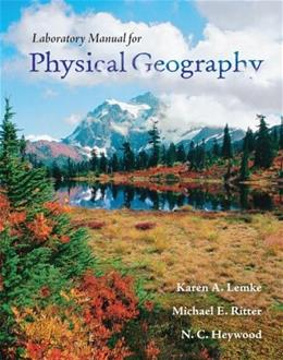 Physical Geography, by Lemke, Lab Manual 9780077276034