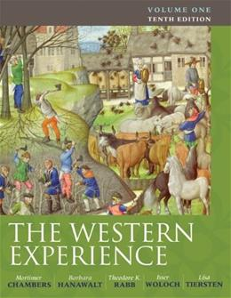 The Western Experience, Volume 1 10 9780077291174