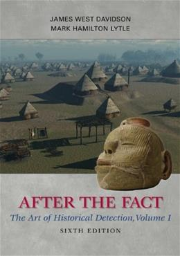 1: After the Fact: The Art of Historical Detection, Volume I 6 9780077292683