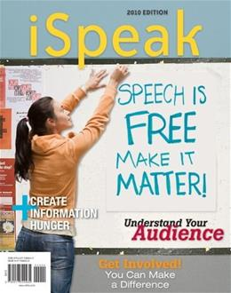 iSpeak, by Nelson, 3rd Edition 9780077309435