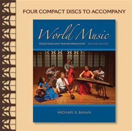 World Music: Traditions and Transformations, by Bakan, 2nd Edition, CD-ROM ONLY 2 CD-ROM 9780077337711
