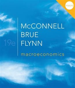 Macroeconomics (McGraw-Hill Series Economics) 19 9780077337728