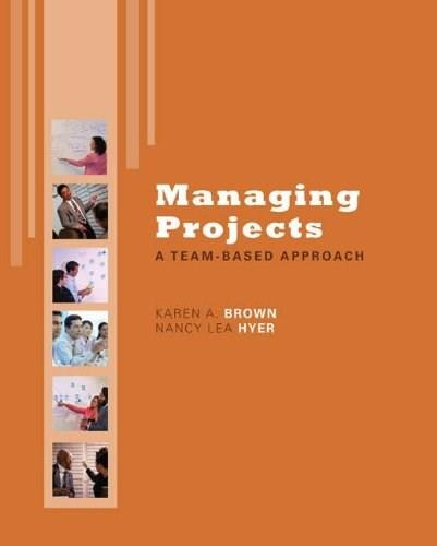 Managing Projects: A Team-Based  Approach with Student CD (The Mcgraw-hill/Irwin Series Operations and Decision Sciences) BK w/CD 9780077356453