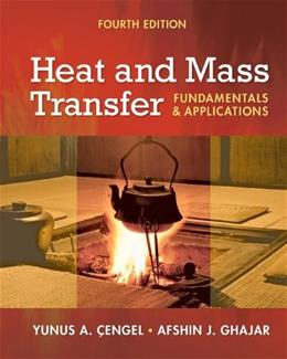 Heat and Mass Transfer: Fundamentals and Applications + EES DVD for Heat and Mass Transfer 4 w/DVD 9780077366643
